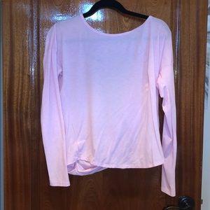 Tops - Cute twist super soft open back shirt!